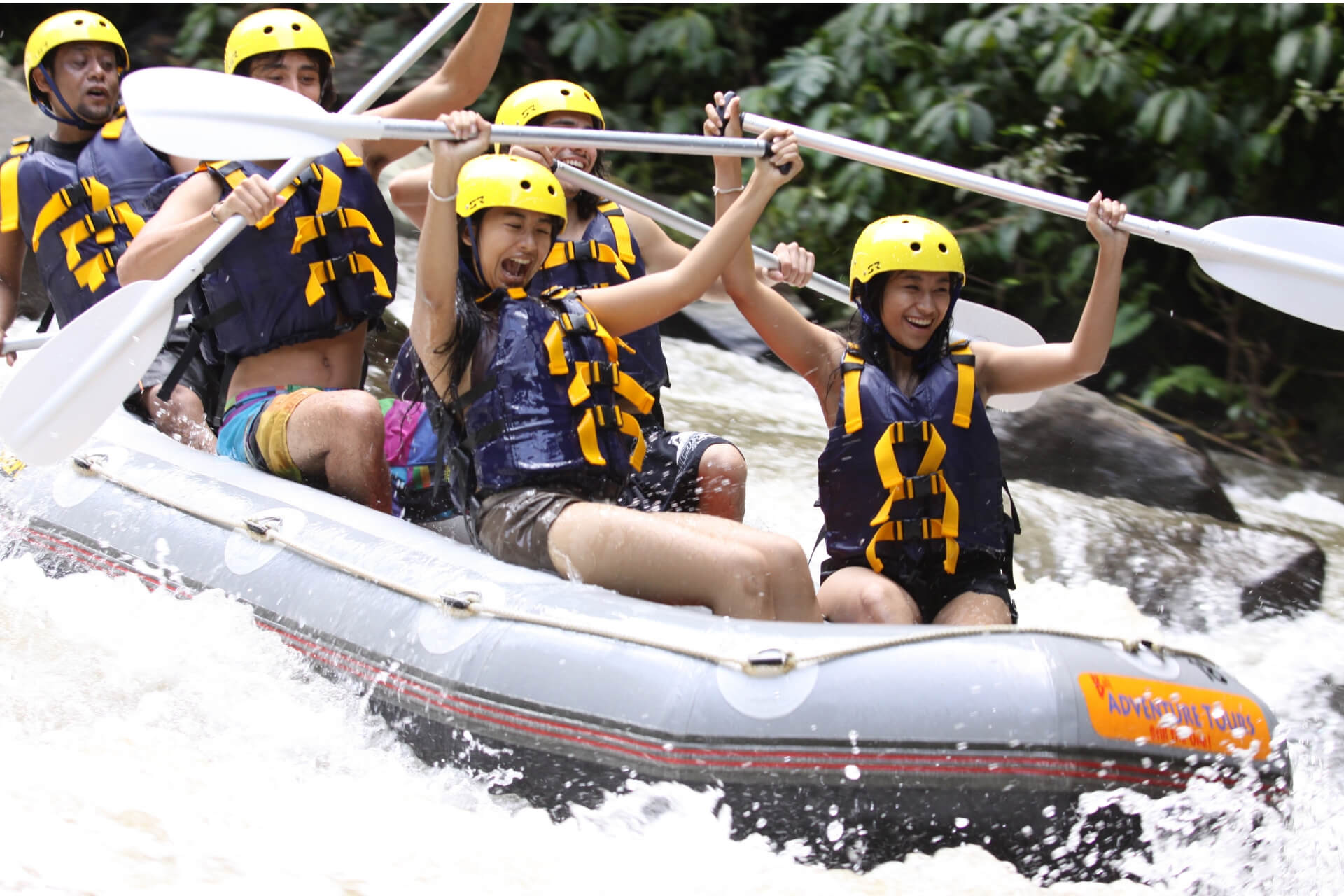 Mason Ayung River White Water Rafting