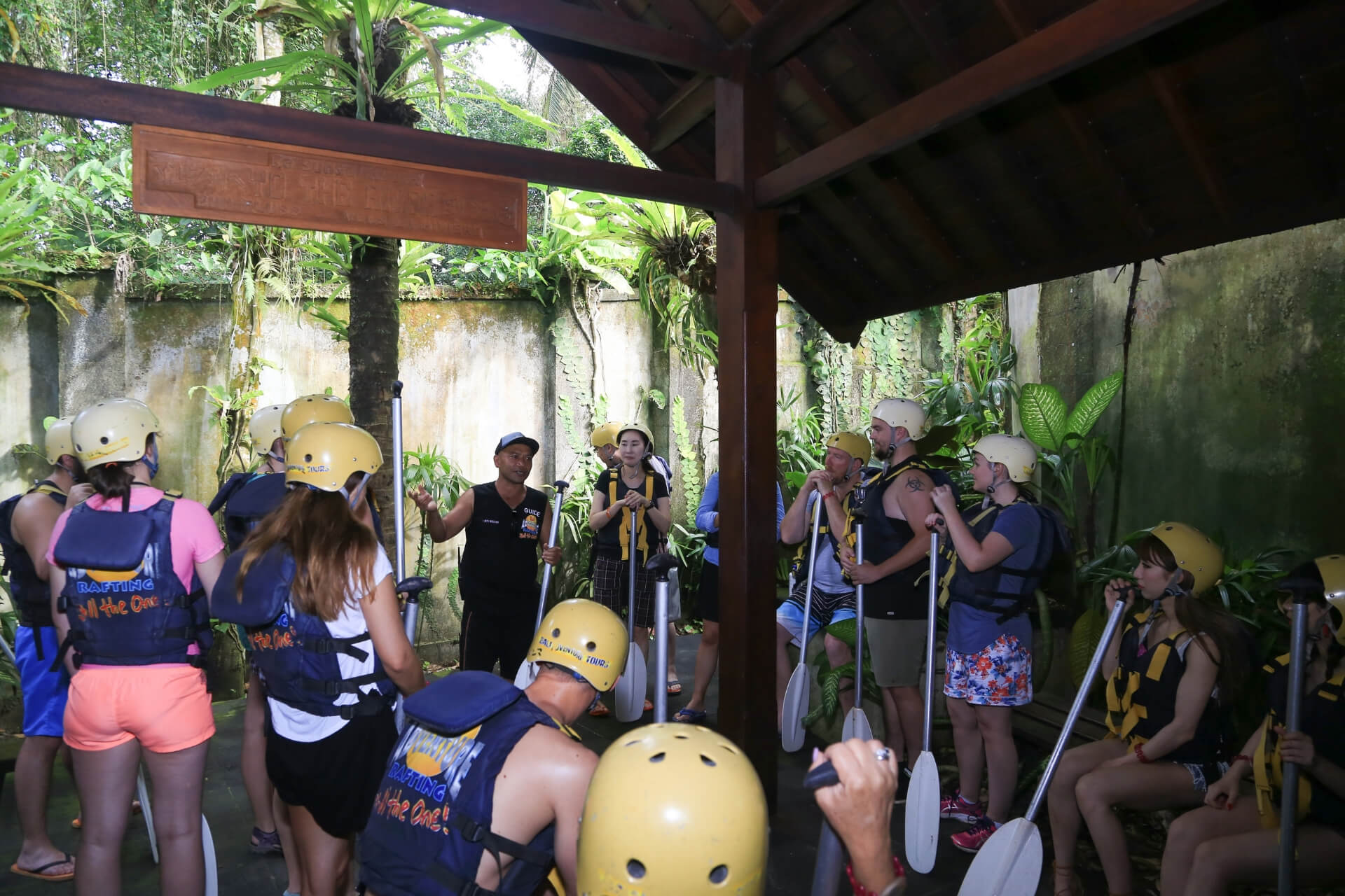 Bali Rafting Adventure Brief and Instructions