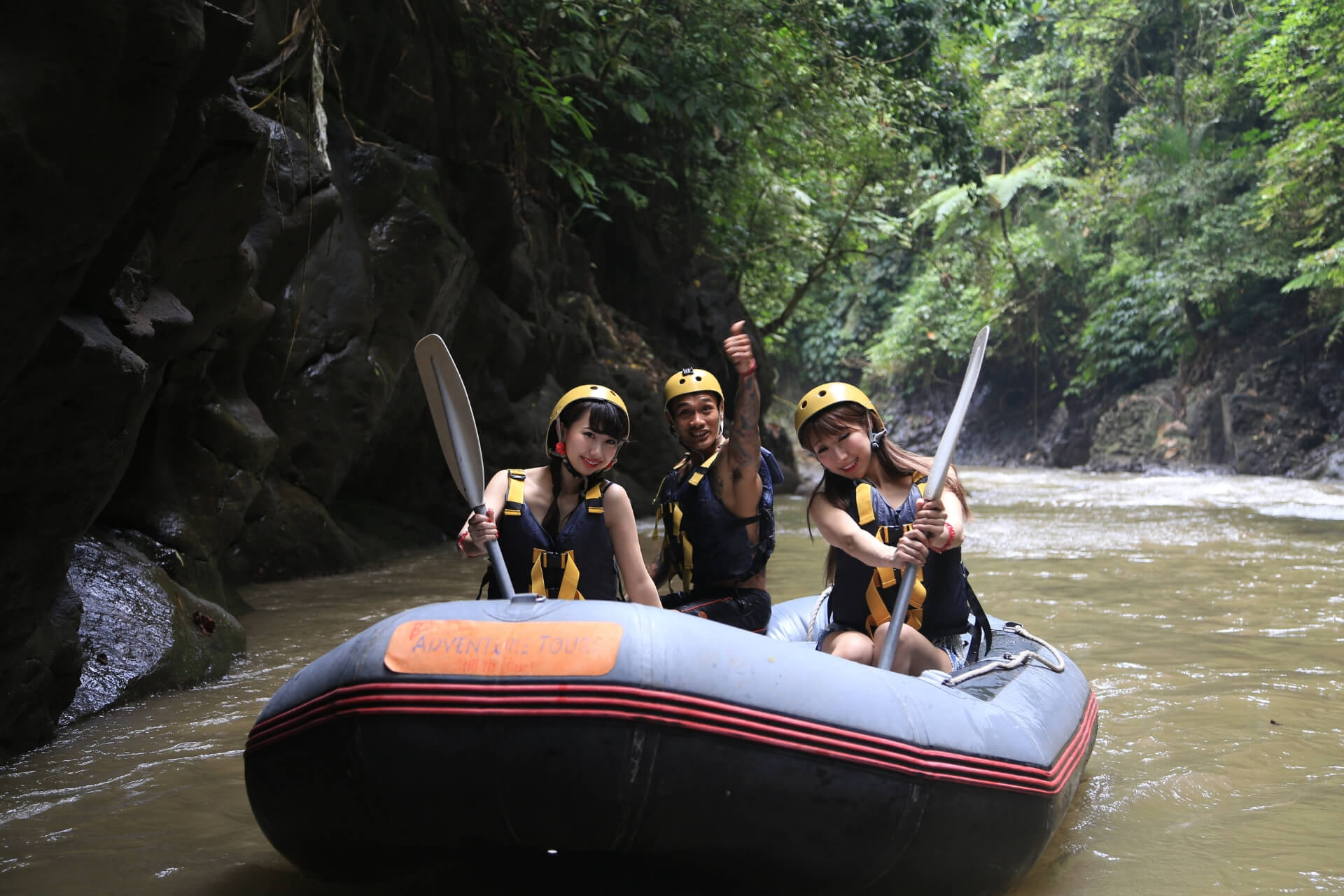 Bali Rafting Adventure Ready to rumble!