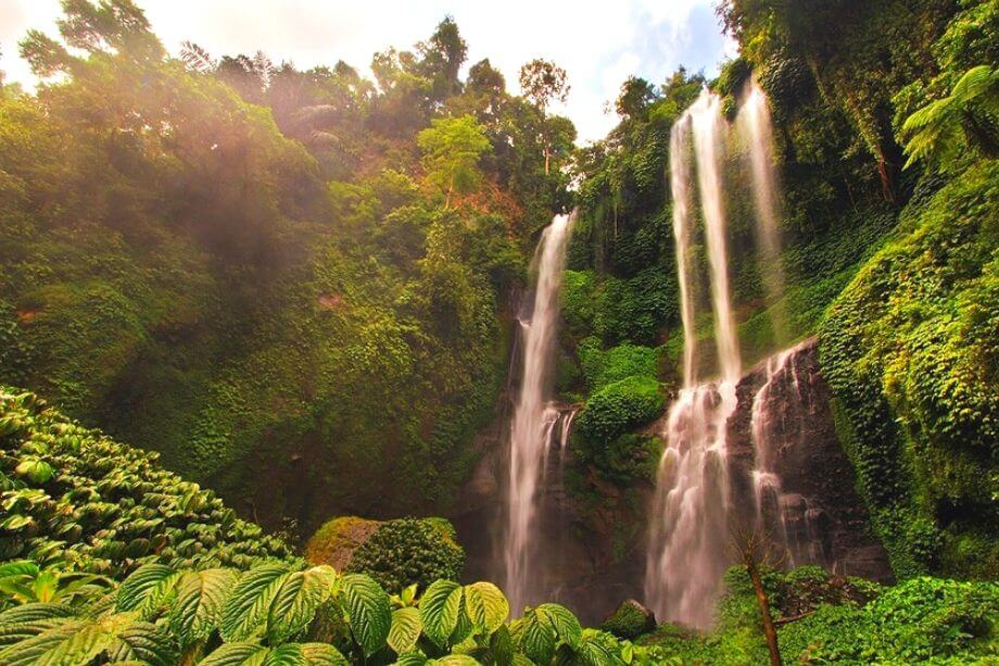 Sekumpul Waterfall Bali Attraction