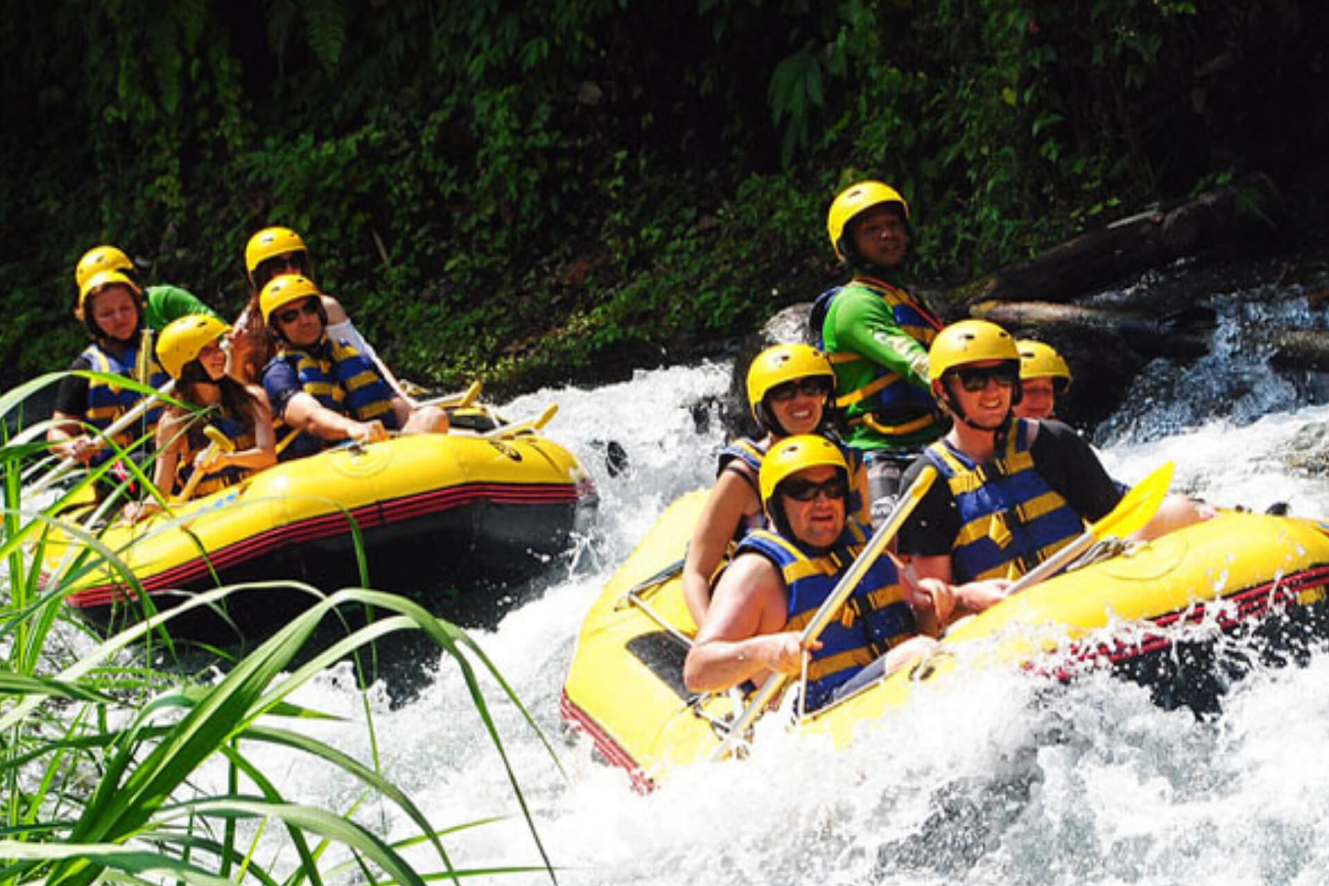 Alam Adventures Telaga Waja River White Water Rafting