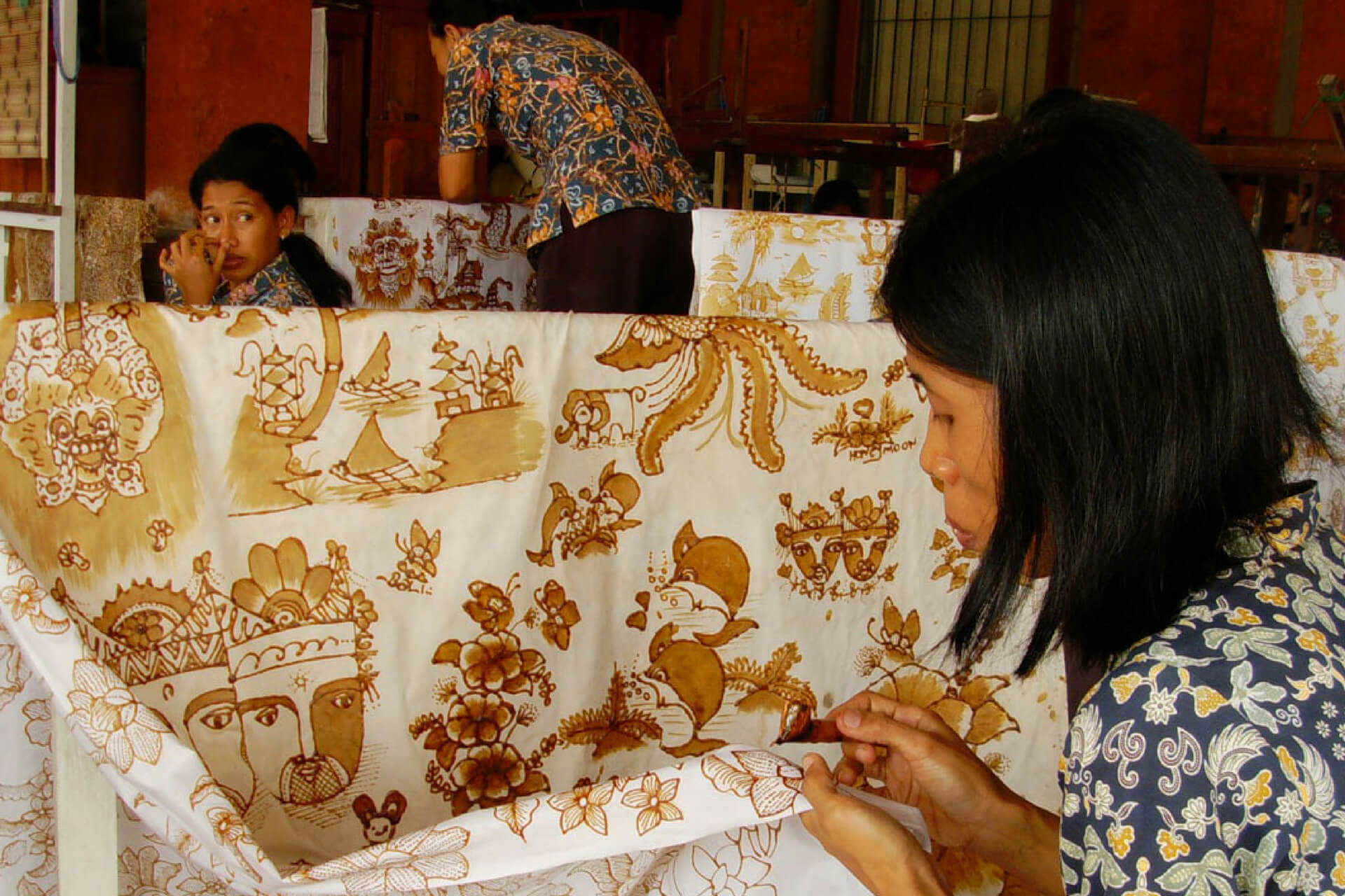 Tohpati Village Batik Crafts