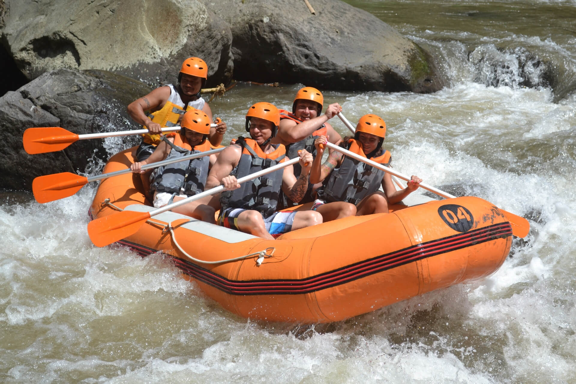 Toekad Ayung White Water Rafting